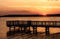 Lake Sunset Fine-Art Print