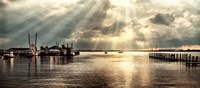 Dock Sunrise Fine-Art Print