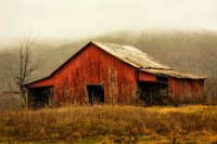 Skylight Barn in the Fog Fine-Art Print