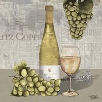 Uncork Wine and Grapes II Fine-Art Print