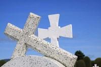 Crosses By The Sea Fine-Art Print