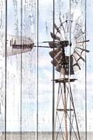 White Washed Windmill Fine-Art Print