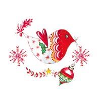 Christmas Dove II Fine-Art Print