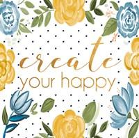 Create Your Happy Fine-Art Print