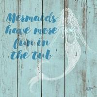 Mermaid Saying I Fine-Art Print