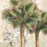 Palms Away I Fine-Art Print