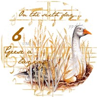 Six Geese a-Laying Fine-Art Print