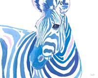 Vibrant Zebra Fine-Art Print