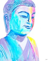 More Vibrant Buddha Fine-Art Print