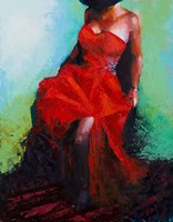 Lady in Red Fine-Art Print