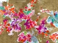 Spring Florals on Gold Fine-Art Print