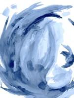 Blue Swirl II Fine-Art Print