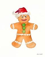 Gingerbread Man I Fine-Art Print