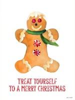 Holiday Gingerbread Man II Fine-Art Print