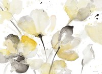 Neutral Abstract Floral I Fine-Art Print