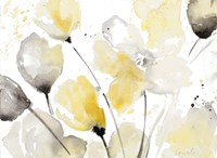 Neutral Abstract Floral II Fine-Art Print