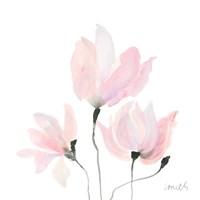 Pastel Floral Sway I Fine-Art Print