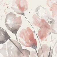 Neutral Pink Floral II Fine-Art Print