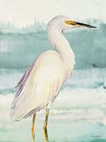 Heron on Seaglass II Fine-Art Print