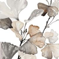 Neutral Ginko Stems II Fine-Art Print