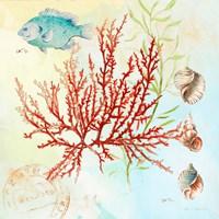 Deep Sea Coral I Fine-Art Print