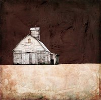 Neutral Brown Farm Fine-Art Print
