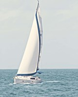 Sailboat in the Ocean Fine-Art Print