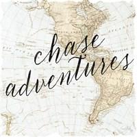 Adventure Awaits I Framed Print