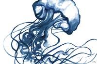 Jellyfish In The Blues Fine-Art Print