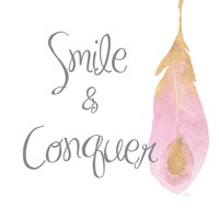 Good Vibes And Smiles I Framed Print