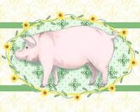 Piggy Wiggy I Fine-Art Print