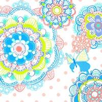 Mandala Butterfly Square Fine-Art Print