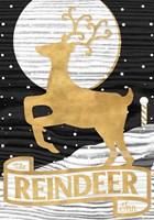 Winter Lodge Sign II Fine-Art Print