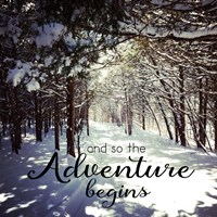 Adventure Begins Fine-Art Print