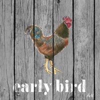 Early Bird Rooster Fine-Art Print