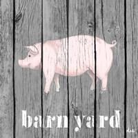 Barnyard Pig Fine-Art Print