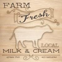 Country Organic Dairy I Fine-Art Print
