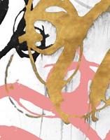 Rose Gold Strokes I Fine-Art Print