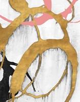 Rose Gold Strokes II Fine-Art Print