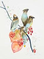 Birds on Branch Fine-Art Print