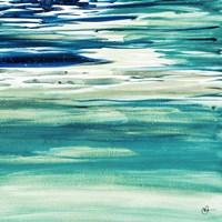 Blue Color Study II Fine-Art Print