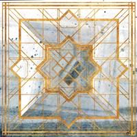 Deco Square I Fine-Art Print