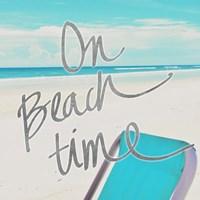 On Beach Time Fine-Art Print