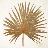 Golden Leaf Palm I Fine-Art Print
