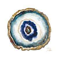 Agate Watercolor II Fine-Art Print