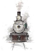 Antique Locomotive Fine-Art Print