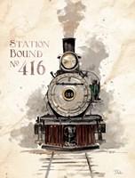 Station Bound No.416 Fine-Art Print