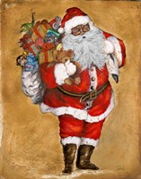 African American Presents From St. Nick Fine-Art Print