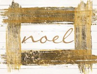 Gold Noel Fine-Art Print