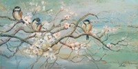 Spring Branch with Birds Fine-Art Print